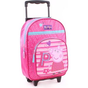PEPPA PIG Sac ? dos roulettes Fille 38 cm