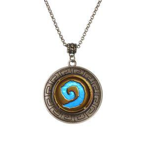 SAUTOIR ET COLLIER Wow Monde de Warcraft Logo Pendentif Collier Roman