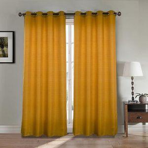 rideaux double epais achat vente rideaux double epais pas cher cdiscount. Black Bedroom Furniture Sets. Home Design Ideas