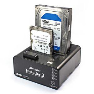 STATION D'ACCUEIL  Juce® D'accueil du Disque Dur USB 3.0, 2 Baies à D
