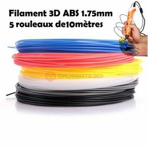 IMPRIMANTE 3D Assortiment de filaments 3D ABS 1.75mm pour stylo