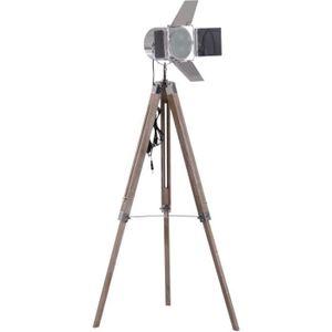 LAMPADAIRE Lampadaire trépied projecteur pivotant - Style ind