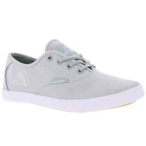 BASKET Kappa sneaker dames chaussures à lacets argent