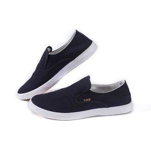 Chaussures En Toile Hommes Basses Quatre Saisons Classique LKG-XZ114Bleu42 Sq4t82Ypyq