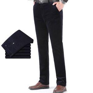 PANTALON Coupe Droit Pantalon en Velours Côtelé Homme de Au