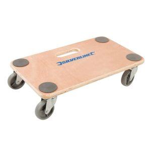 CHARIOT - DESSERTE Chariot plateforme à roulette 150kg / Support meub