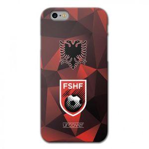 COQUE - BUMPER URCOVER Coque Equipe de Albanie pour Apple iPhone
