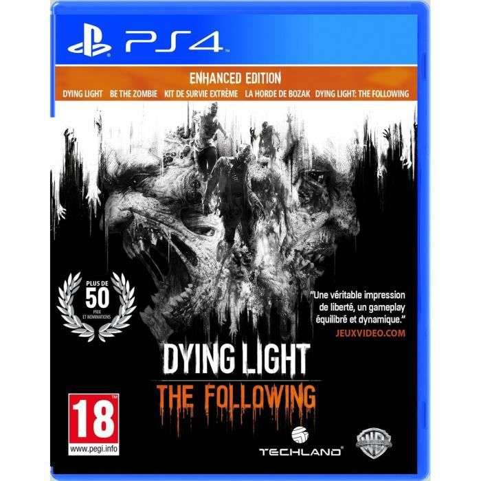 Dying Light: The Following - Enhanced Edition Jeu PS4