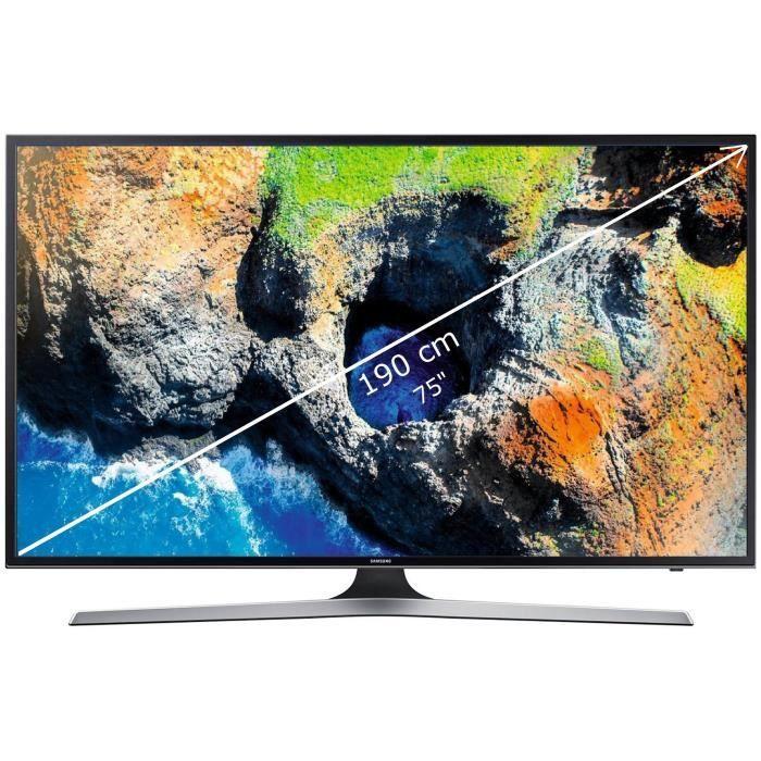 SAMSUNG UE75MU6120 TV LED 4K UHD 190 cm (75