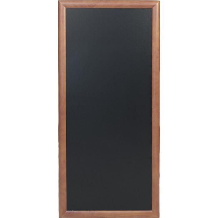 Ardoise longue à fixer, 120 x 56 cm Wenge