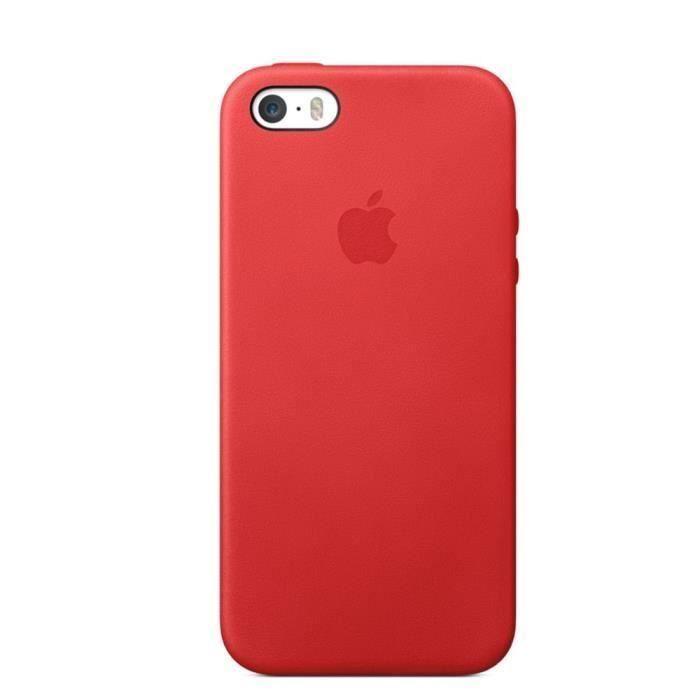 coque rouge et noir iphone 5