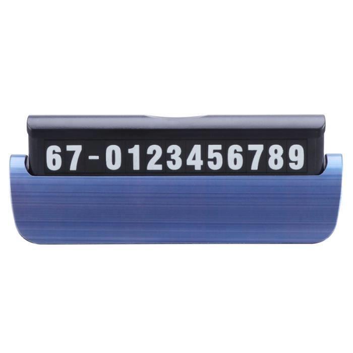 PUCE PREMIERS SECOURS 1pc Numéro de téléphone de stationnement de statio