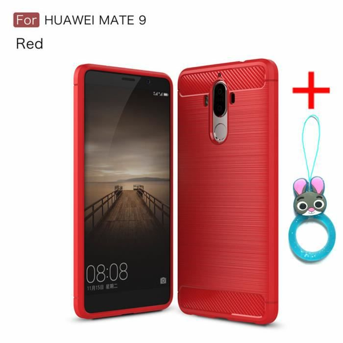 coque rouge huawei mate 9