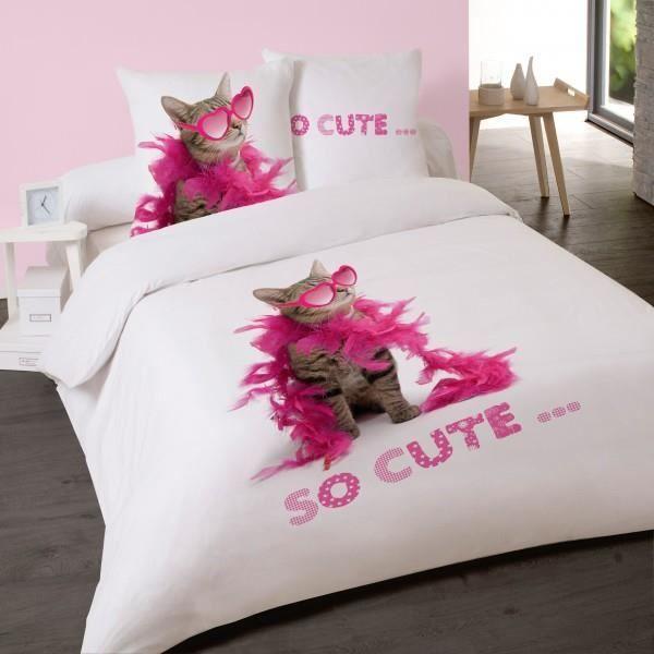 housse de couette 220x240 fille achat vente pas cher. Black Bedroom Furniture Sets. Home Design Ideas