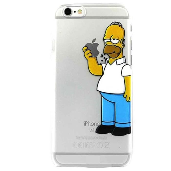 coques iphone 6 homer simpson