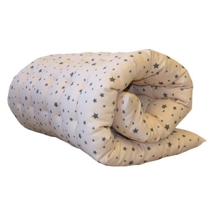 matelas de sol coton imprim stardust 60x120 cm rose et gris achat vente coussin matelas. Black Bedroom Furniture Sets. Home Design Ideas