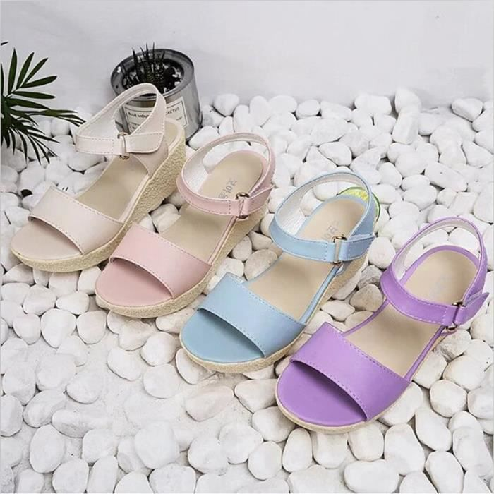 Les Wedges Chaussures femmesPlate-forme Sandales plateforme ouverte Toe Chaussures Chaussures Femmes 4rXCMOs