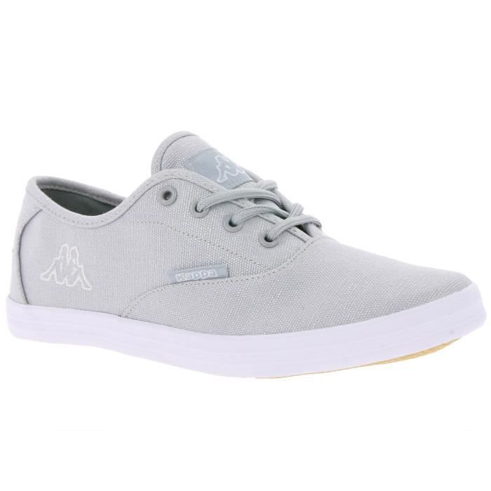 Lacets Gris Argent Chaussures Achat Kappa À Sneaker Dames YybfmI7v6g