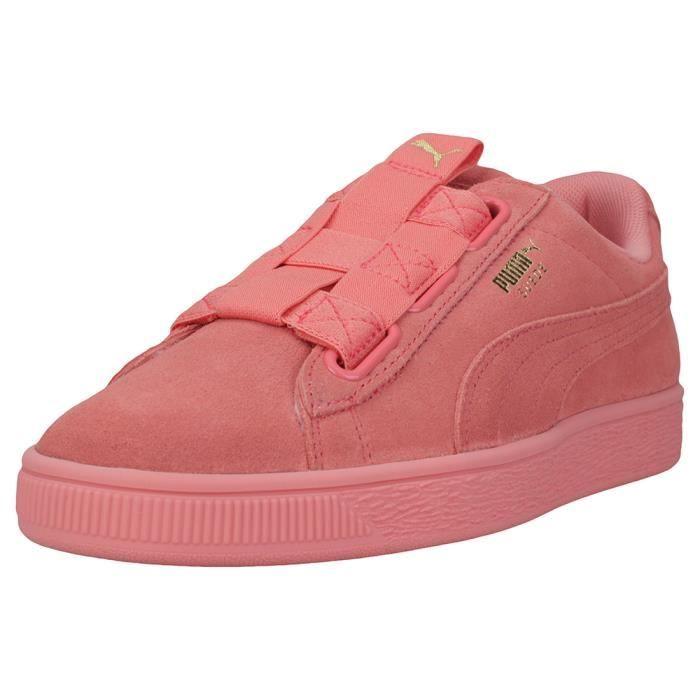 Maze 8 Femmes Sans Chaussures Lacets Rose Uk Puma Suede E2D9IWH