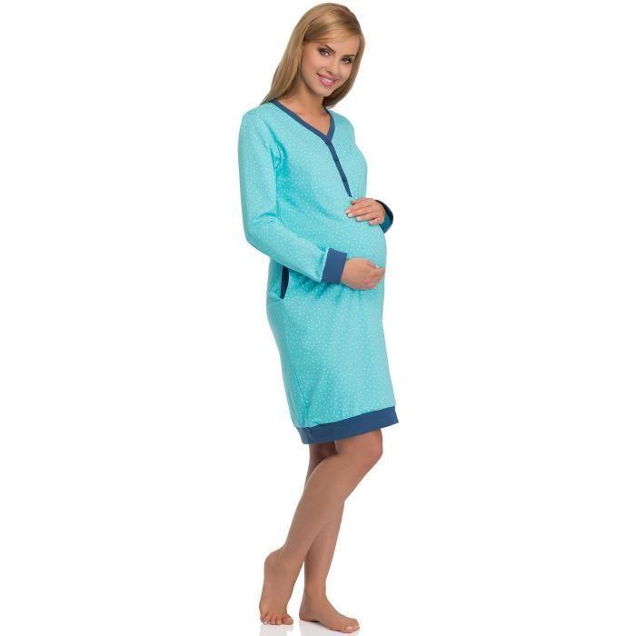 3hkygu Maternité Nuit Taille 606 De Femmes Chemise 34 F1q81wz