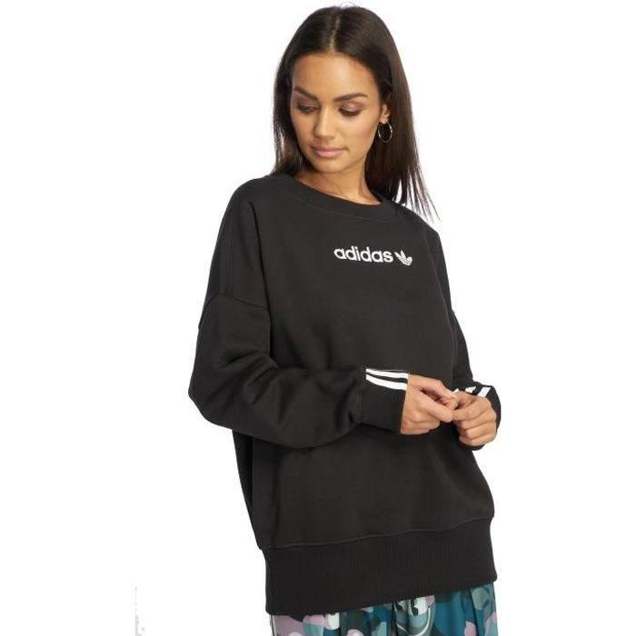 Adidas originals Femme Hauts   Sweat   Pull Coeeze Noir - 543470 ... 5b5edf0c6c6