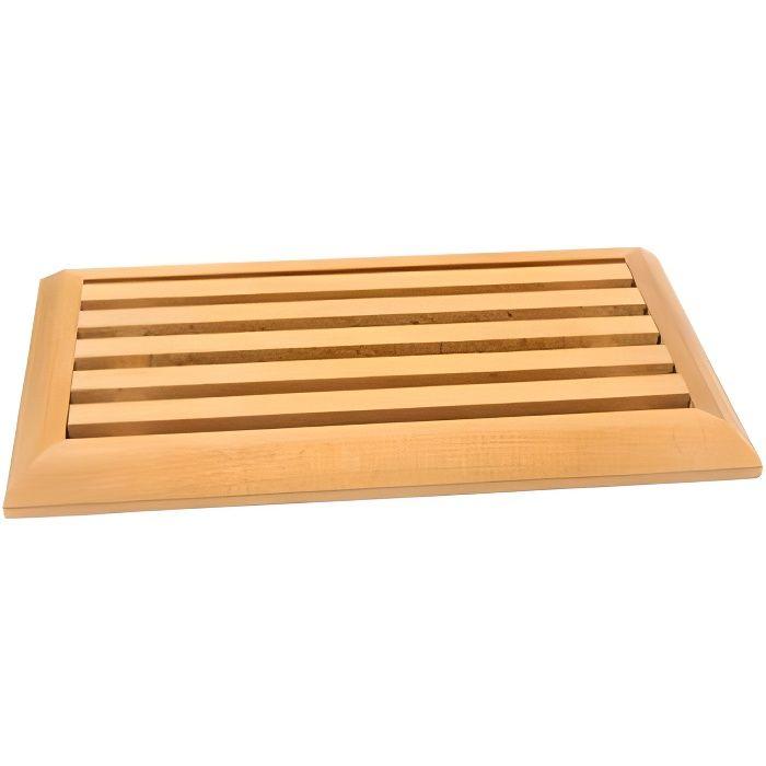 planche à pain hètre avec grille ramasse-miettes - achat / vente