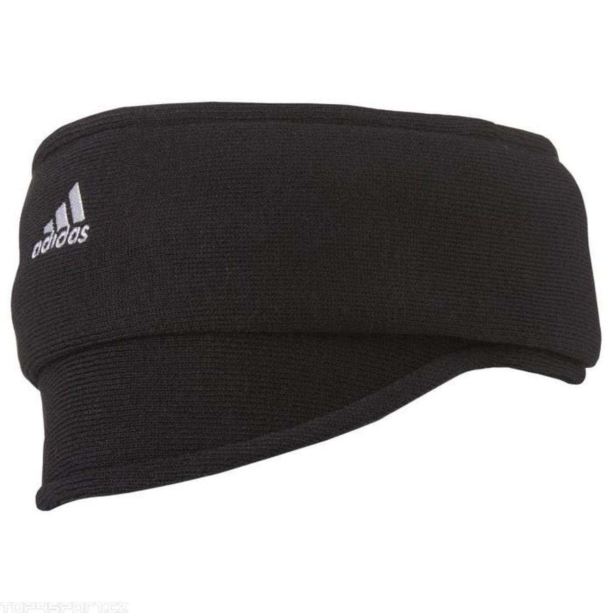 9412f60d9981 Adidas Cache-cou Team Noir Blanc Noir Noir Blanc - Achat   Vente bandeau de  sport 4051941227120 - Cdiscount
