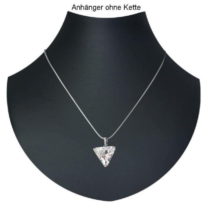 In Collections - 0010201656340 - Pendentif Femme - Argent 925-1000 - Zirconium PFXBZ
