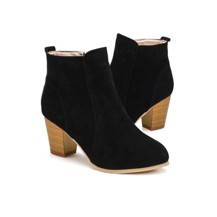 Martin Femme Bottes love2104 Cheville Noir Beguinstore Talons Hauts Chaussures D'automne qnvPX4