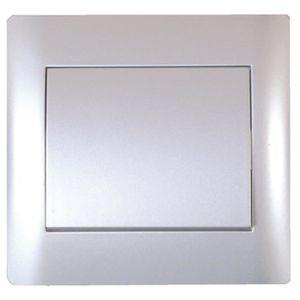 VOLTMAN Interrupteur Poussoir aluminium Tango