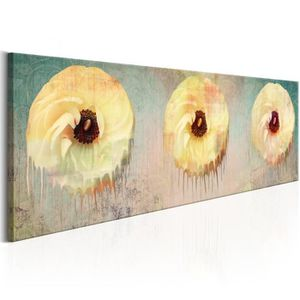 TABLEAU - TOILE Tableau  |  Flowers of Abstraction | 150x50 | XL |
