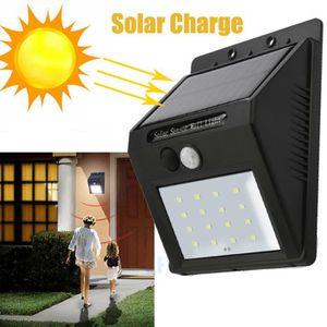 BANDE - RUBAN LED 16 LED Solar Power PIR détecteur de mouvement Appl
