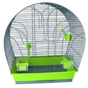 CAGE TYROL Cage Clara équipée 45x28x55cm - Pour oiseau