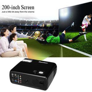 Lampe vidéoprojecteur Excelvan 2600 Lumens Home Cinéma Projecteur 2000:1