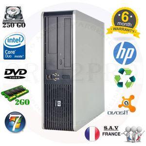 UNITÉ CENTRALE  HP Ordinateur Bureau DC7900 E5200 2.5Ghz Wifi 2Go