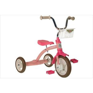 TRICYCLE Tricycle fille rétro rose.