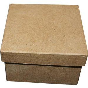 BOITE DE RANGEMENT Boîte carrée carton