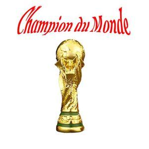 TROPHÉE - MÉDAILLE Champion du monde 2018  Réplique trophée Coupe du