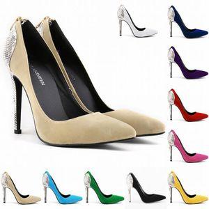 ESCARPIN Femmes Chaussures Talons hauts Classic Vintage Fem