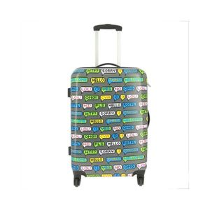 VALISE - BAGAGE Valise rigide 4 roulettes SMS 1 Gris