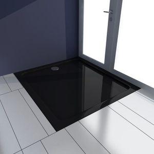 receveur de douche noir 90×90