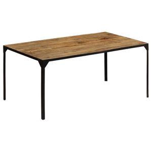 TABLE À MANGER SEULE vidaXL Table de salle à manger 180x90x76 cm Bois d