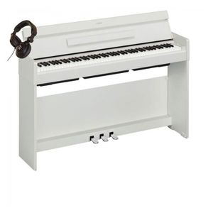 PIANO Pack Yamaha Arius YDP-S34 Blanc - Piano numérique
