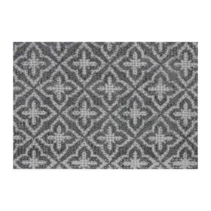 Set de 6 Sets de Tables à Motifs Gris et Blanc 0,000000