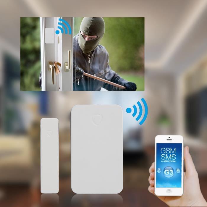 Dtecteur Magnetique Alarme Sans Fil Dtecteur DOuverture Porte