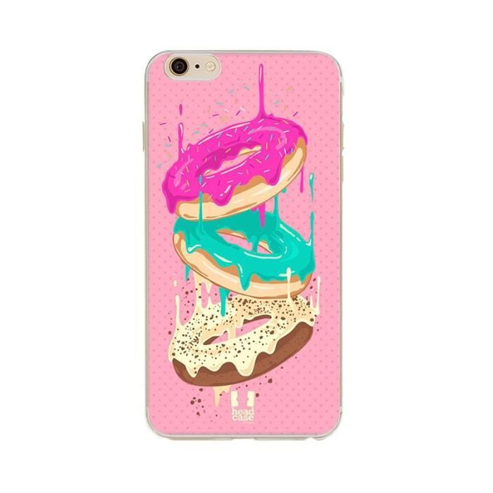 coque iphone 7 silicone donuts