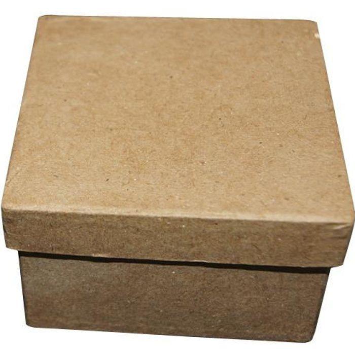 boite carree carton achat vente boite carree carton pas cher soldes d s le 10 janvier. Black Bedroom Furniture Sets. Home Design Ideas
