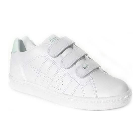 NIKE Court Tradition Velcro Whit… - Achat / Vente basket ...