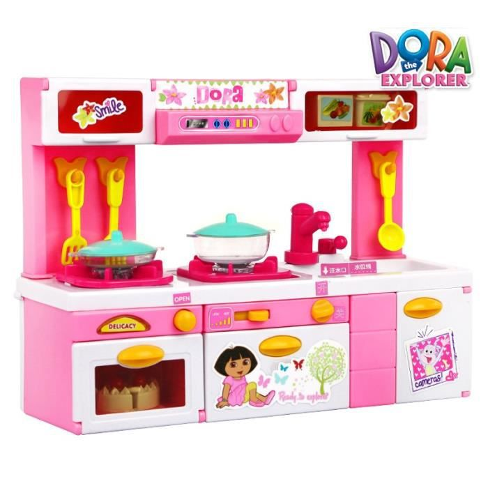 Dora cuisine cadeau fille play house jouet d 39 imitation - Jouet fille 11 ans ...
