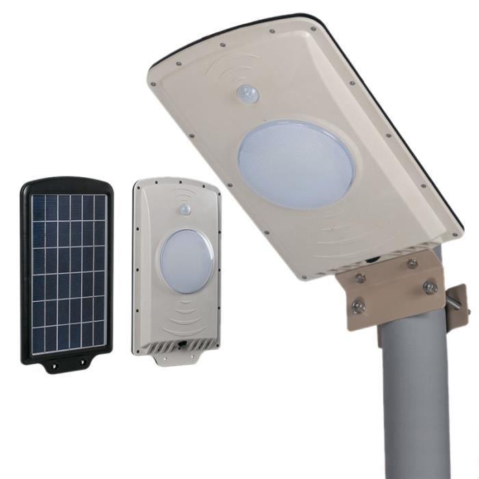 Extérieur De La Léger Sonde Projecteur Blanc Contrôle Led Solaire 6w Lumière 650lm 48w Mode Pir 540 Réverbère rsdCxthQ